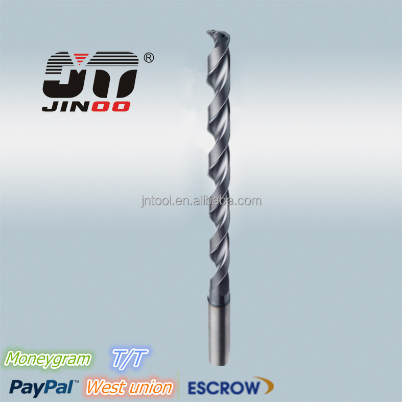 China cnc machine tungsten carbide high speed twist <strong>drill</strong> hole saw <strong>drill</strong>