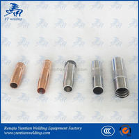 Full automatic welding/lighter pipe/nozzle