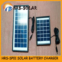 2W small solar powered charger,