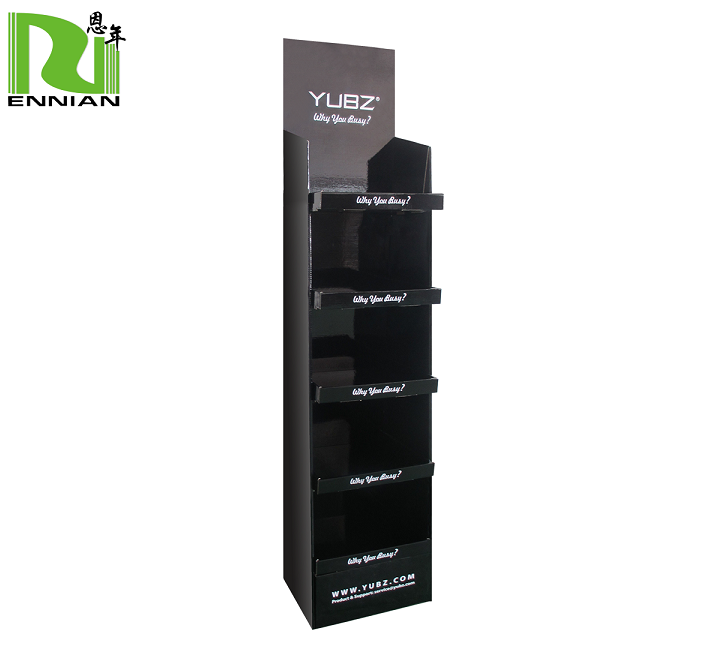 Advertising Creative Promotional Store Corrugated Cardboard Floor Display Stand