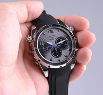 dfee0b77df1 Completa 1080 P Indiano Escondida Câmera de Vídeo IR Night Vision Relógio  para Homens Com 16G