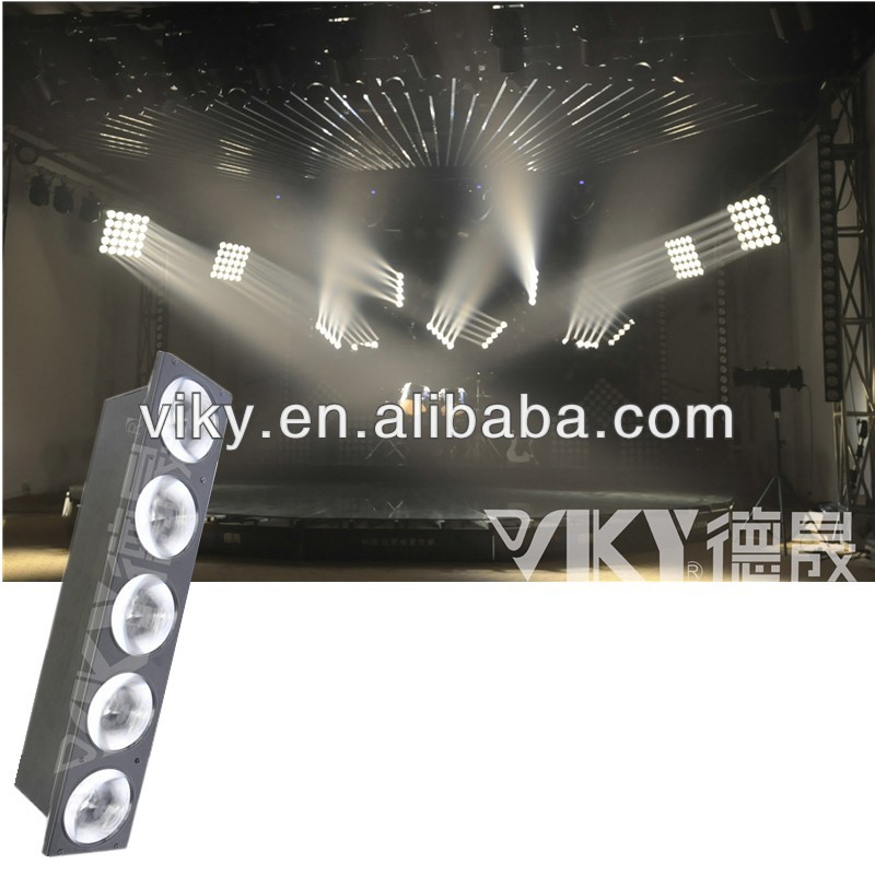 5*10W CREE Warm white LED Matrix beam stage light