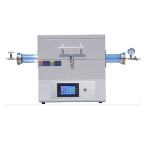 furnace 1200 degree to 1700 C PID control lab horizontal high temperature atmosphere tube furnace