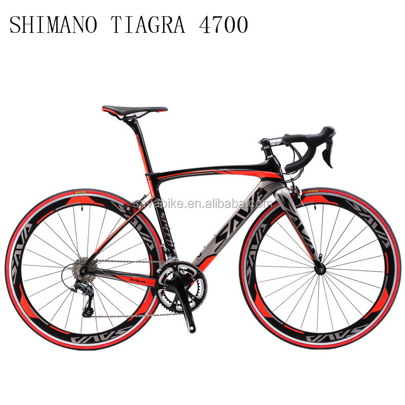 SAVA China bicycle factory direct sell carbon road bike high quality 4700 group set