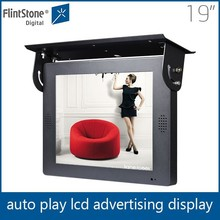 FlintStone 19 inch battery powered digital frame with wifi LCD bus screen for advertising video player