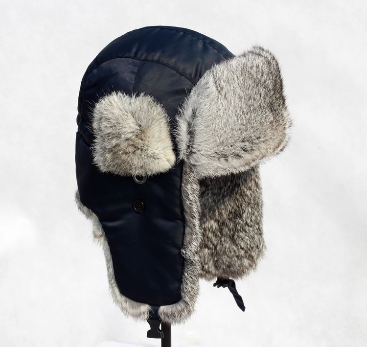 Buy Cotton Bomber Caps Rabbit Hair Fur Earmuffs Hat For Men And Women Winter  Cold-weather Snow Cap OC0146 in Cheap Price on Alibaba.com 17c89668e71