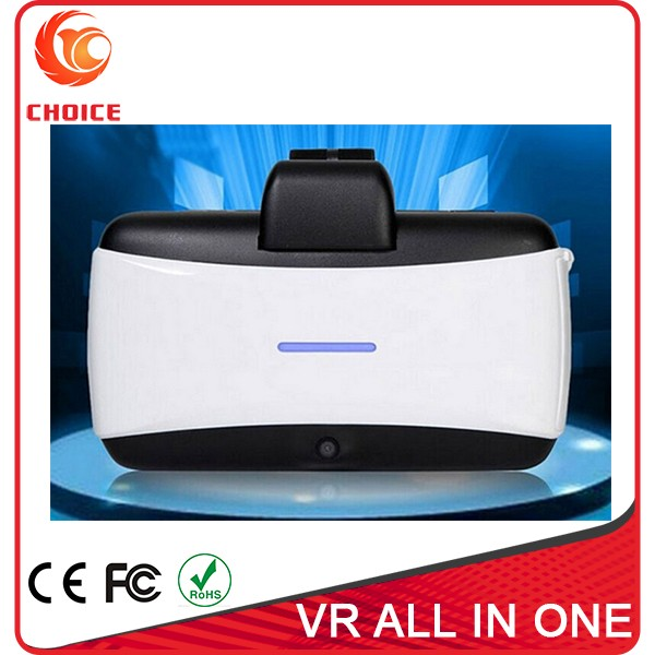 Virtual Reality Headset All in One VR with 1080P 360 Viewing Immersive Headphone Micro USB Port TF Card