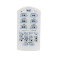 Smart RF remote controller 433MHz home automation lighting, dimmer, curtain switch