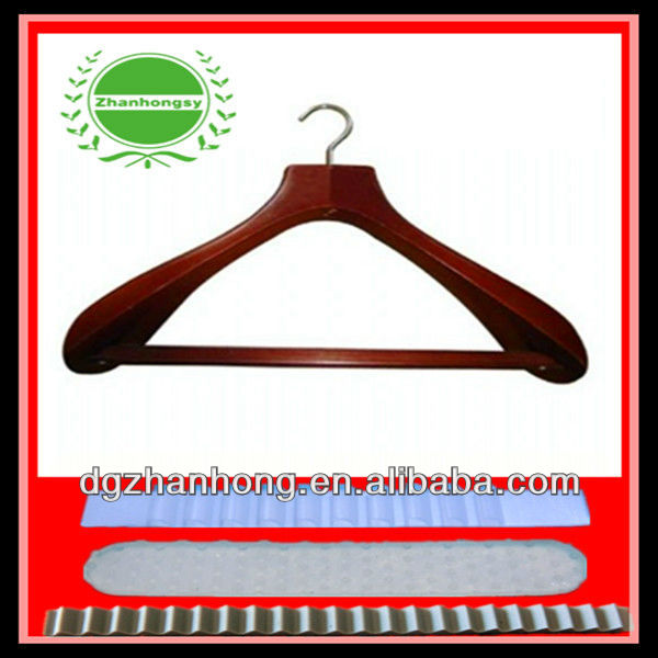 (Rubber antiskid hanger strips )MAGIC plastic hanger , keep your clother on place