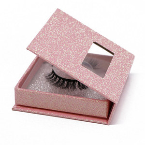 FACTORY Price Natural Looking Private Label 3D Silk Faux Mink False Eyelashes