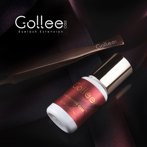 Gollee Volume Mink MSDS Adhesive Eyelash Extention Glue Waterproof Lash Bottle Eyelash Extension Glue