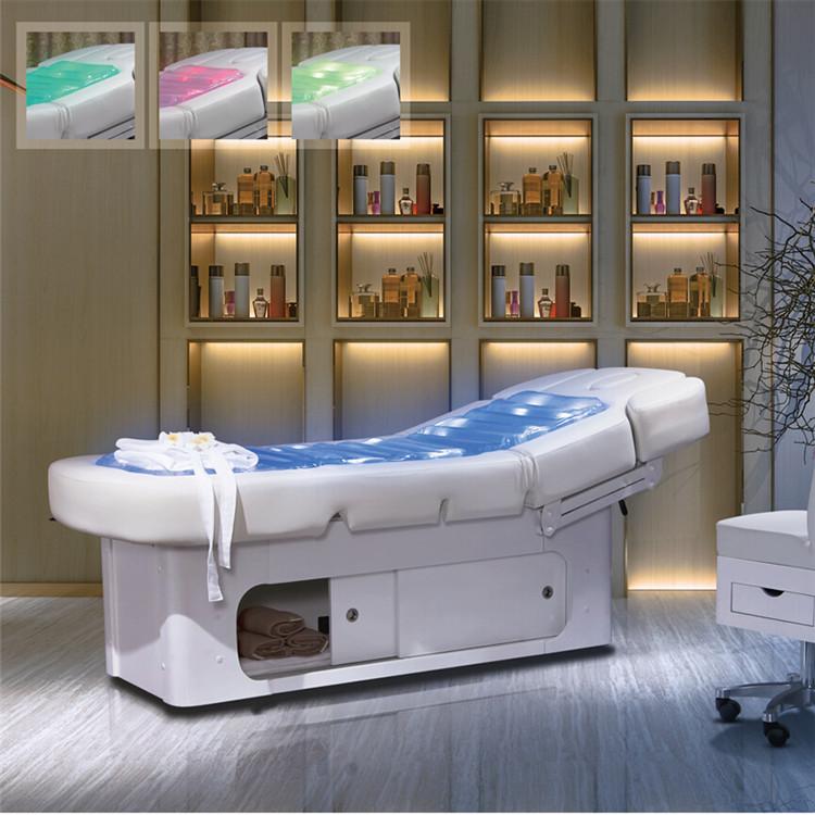 bon prix thermique eau lectrique lit de massage avec chauffage et led ligh tables de massage id. Black Bedroom Furniture Sets. Home Design Ideas