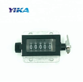 Mechanical cycle counter meter 5 digit