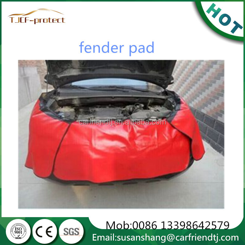 soft leather surface flannel inside fender pads vehicle service products used in vehicle industry