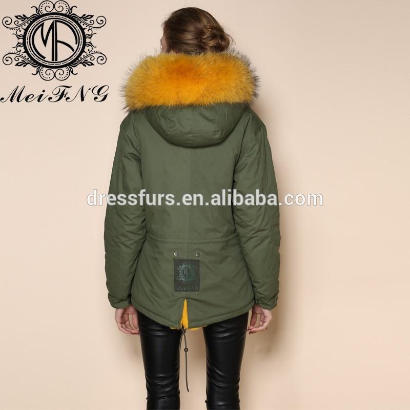 Manteau capuche racoon