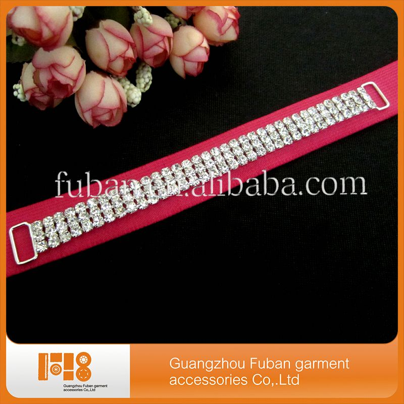 bikini crystal rhinestone pave connector for jewelry