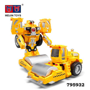 Wholesale remote control deformation robot toy trans robot toy car