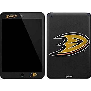 NHL Anaheim Ducks iPad Mini (1st & 2nd Gen) Skin - Anaheim Ducks Distressed Vinyl Decal Skin For Your iPad Mini (1st & 2nd Gen)