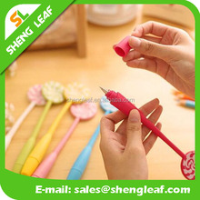 2016 newest and promotional cute sunny doll ball pen