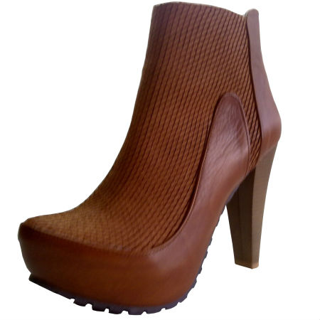High Heel Leather High Boot Leather High Heel Ankle Ankle Heel Boot wfOYpqWx