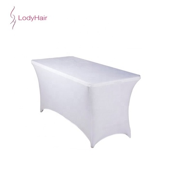 Whole Tablecloth Elastic Private Logo Table Covers Custom Printed Disposable Cover For