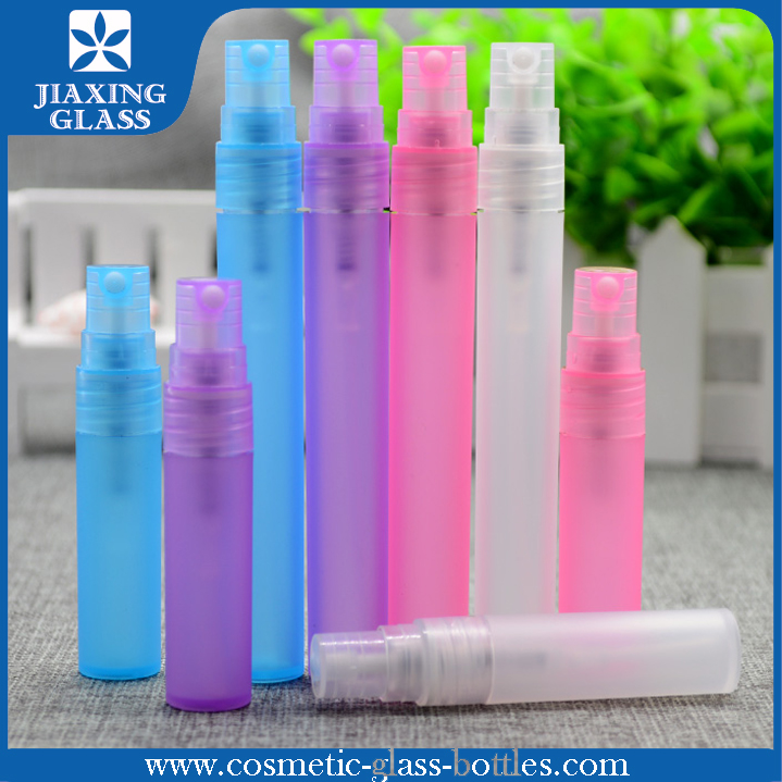 Hot Selling Colorful Perfume Tester Vials/ Refillable Frosted Pen Perfume Atomizer/ Pen Spray Bottle