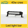 Car Accessories Cree Jeep Truck led light bar 40w