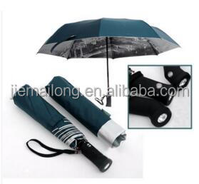 2015 hot sell 3 folds auto open and close double layer BMW umbrella Exotic styles umbrella and arts umbrella