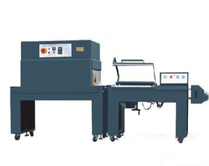 Semi auto L bar sealer and shrink wrap packaging machine