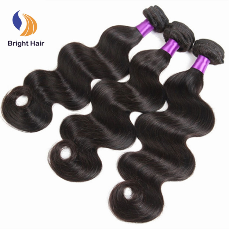 10a 100% natural double drawn mink remy virgin human raw temple indian hair, Natual color