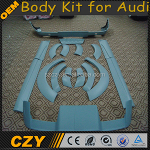 A Design PU Material Q7 Front Bumper Body kit for Audi 2010UP