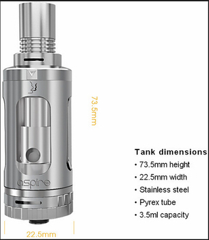 100% Original Aspire Triton V2,Triton 2 0,Aspire Triton 2 Tank Kit