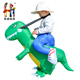 New Design Hot Sale Kids Halloween Inflatable Dinosaur Costume for Party