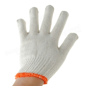 Brand MHR HOT ! Economy Weight Seamless Knit Cotton / Polyester Glove - 7 Gauge