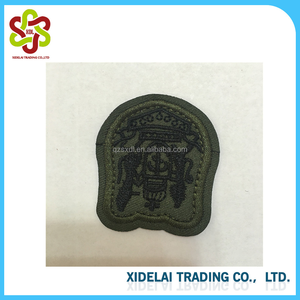 Military Uniform Badge Style Custom Patches Embroidery