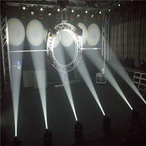 New Guangzhou stage light Led moving head 9/11CH 10w gobo spot led moving head