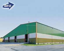Steel truss high quality two story steel structure warehouse