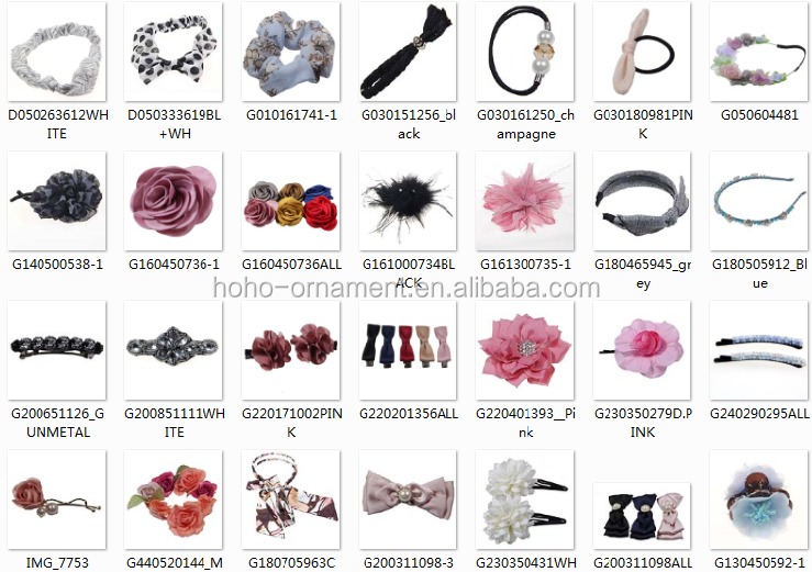 Ladies Pearls Headbands Types Of Hair Bands For Girls