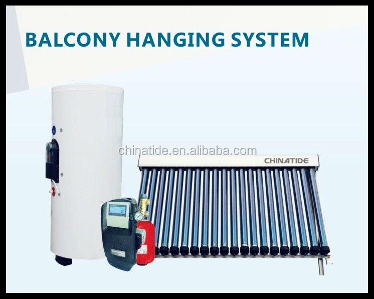 2016 China balcony seperated pressurized solar water heater