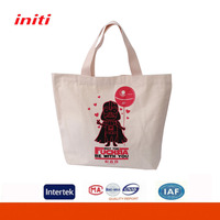 Wholesale 100% Recycled Prompt Delivery Cotton Handbags for Shopping