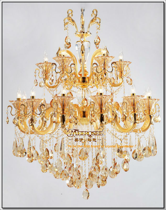 Large Crystal Chandelier for Hotels Modern Large Chandelier MD040