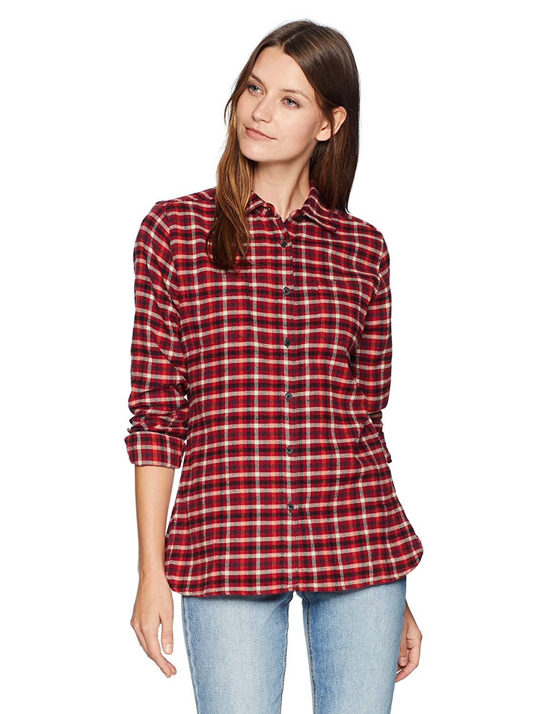692bd7b98de Get Quotations · Woolrich Women s The Pemberton Flannel Shirt