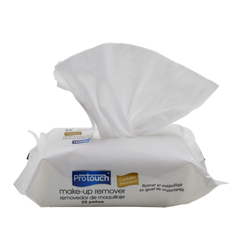 Flushable Paper Make Up Cleaning Wet Wipes For Feminine