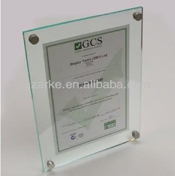 Acryl Zertifikat Rahmen Für Zertifikat Display Buy Acryl
