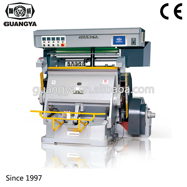 New Hot Press Foil Stamping Die Cut Platen Mahine Machine For Paper