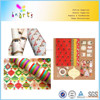 custom design Christmas gift wrap rolls