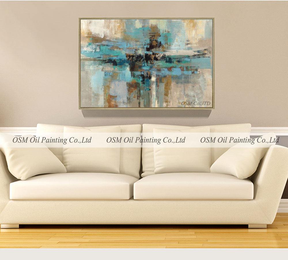 Painting In Living Room Abstract Oil Painting For Living Room Abstract Oil Painting For