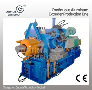 PVC Aluminum Profile Extrusion Machine / new Conical Twin-screw Extruder