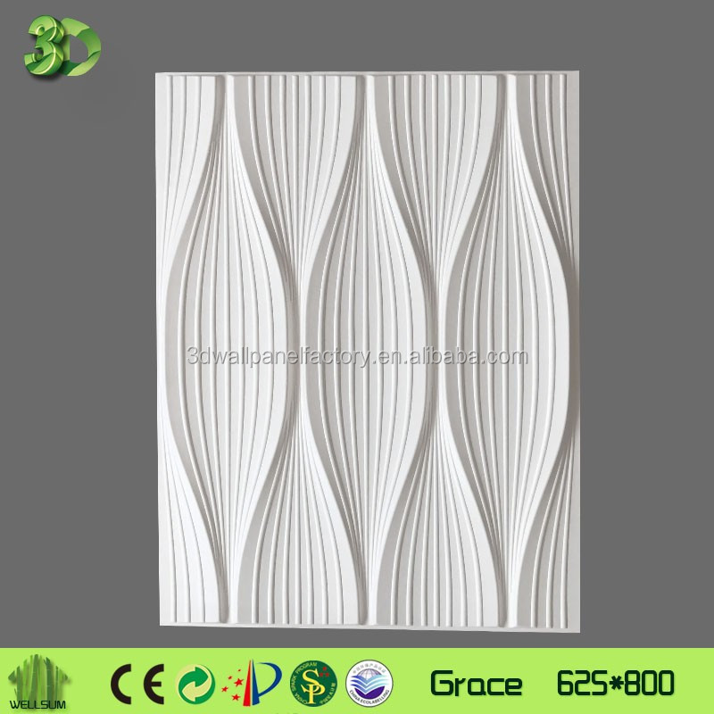 popular sound absorbing 3d panel feature wall art perfect sweetness for baby room