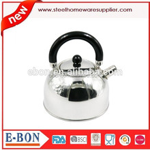 LFGB FDA stainless steel tea pot